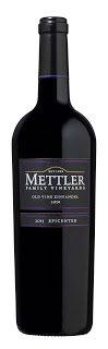 Mettler 2014 Epicenter Old Vine Zinfandel