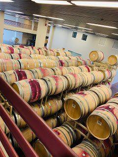 Barrel room at Artesa