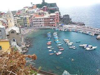 View from the Cinque Terre Hike