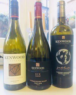 Kenwood Vineyards bottles