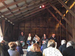 Sustainability panel at Fetzer Vineyards