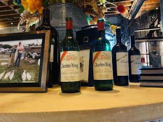 Napa Valley Wine: Proof of their wine history!! Charles Krug