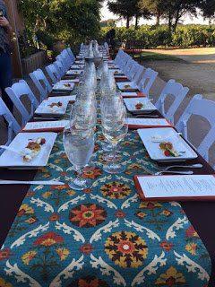 winemaker dinner at Lucas