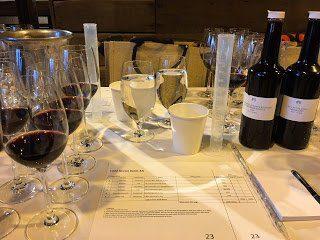 My wine blending studio