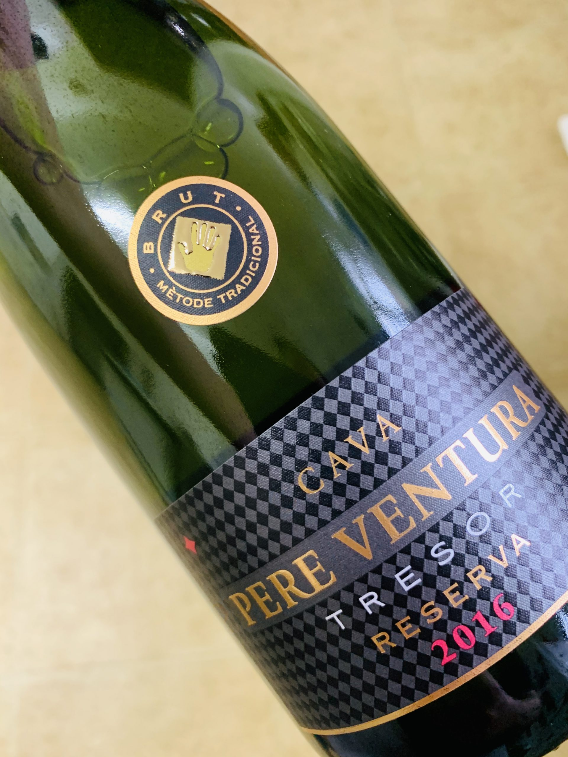 Bubbly Wine Education-Pere Ventura Cava Tresor Brut Reserva