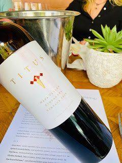 Napa Valley Wine: Titus Vineyards 2016 Zinfandel
