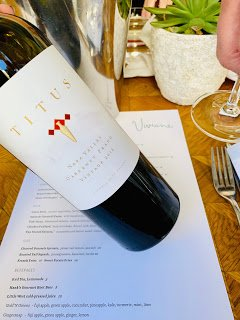 Napa Valley Wine: Titus Vineyards: 2016 Cabernet Franc