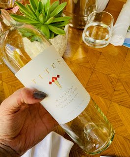 2017 Sauvignon Blanc Titus Vineyards