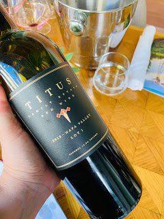 Titus Vineyards: 2012 Lot 1 Red Wine