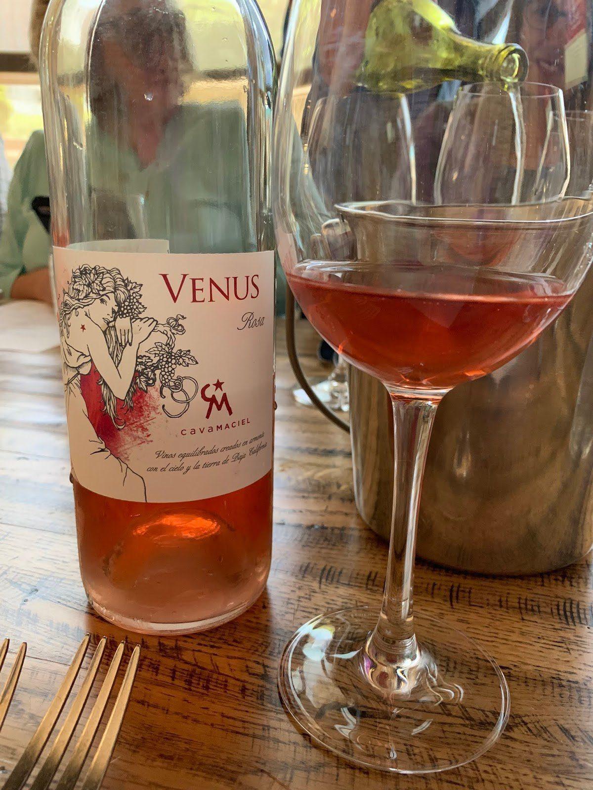 Cavas MacielVenus Rosa of Merlot Valle de Guadalupe