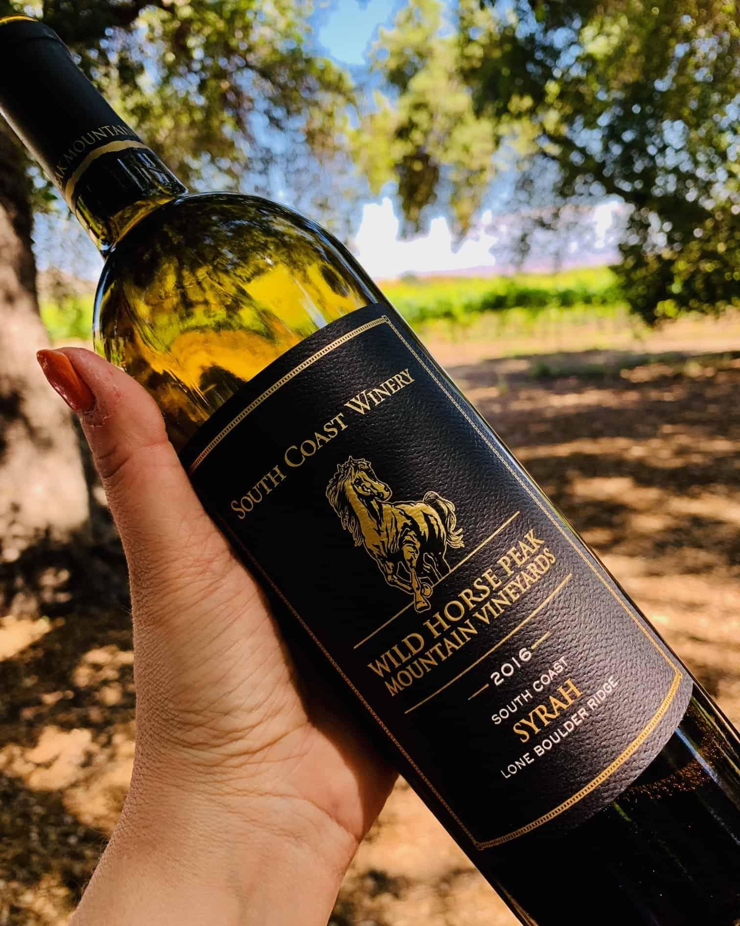 Temecula Wine Country South Coast Winery Wild House Peak Syrah 2016