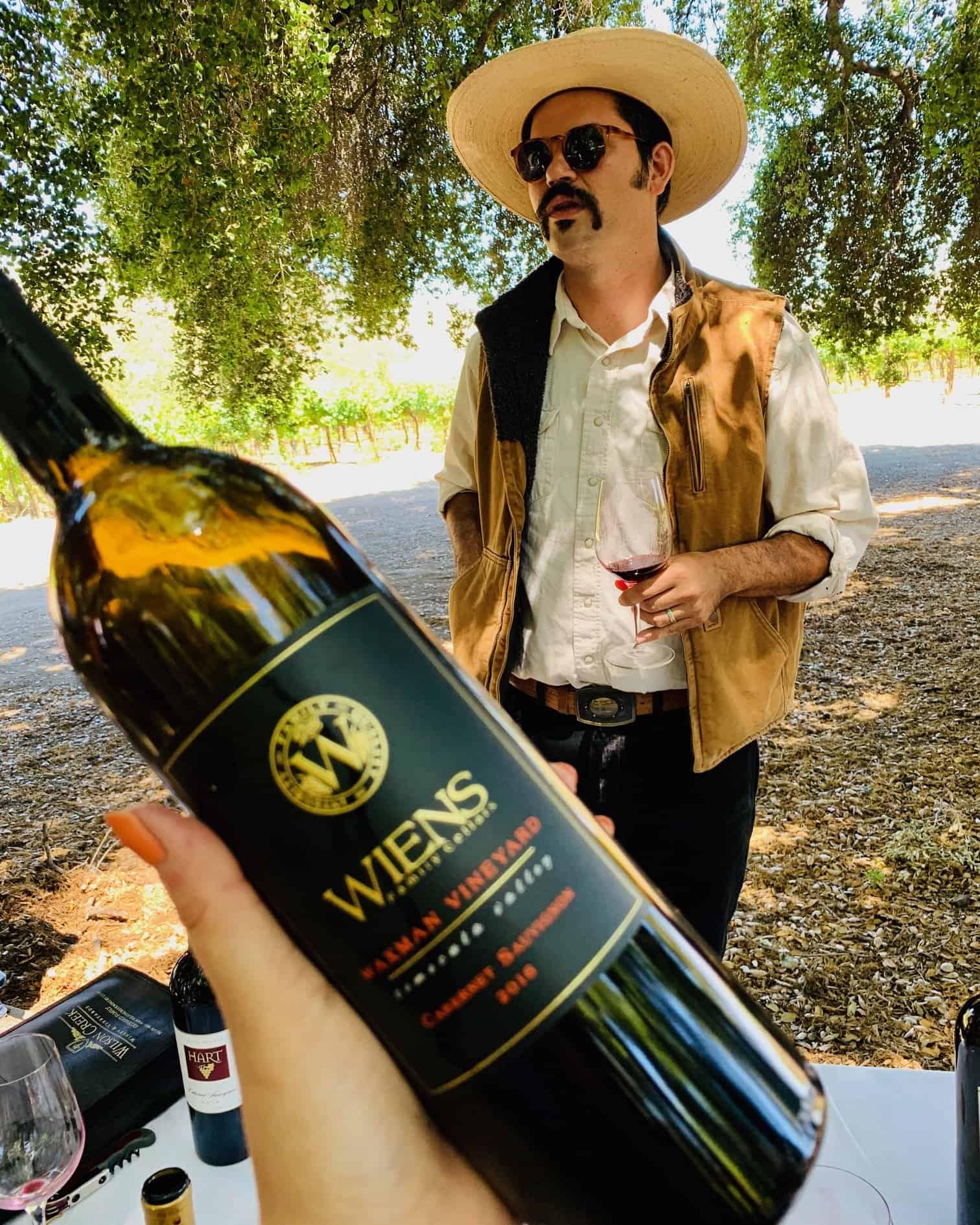 Wiens Waxman Vineyard Cabernet Sauvignon 2016