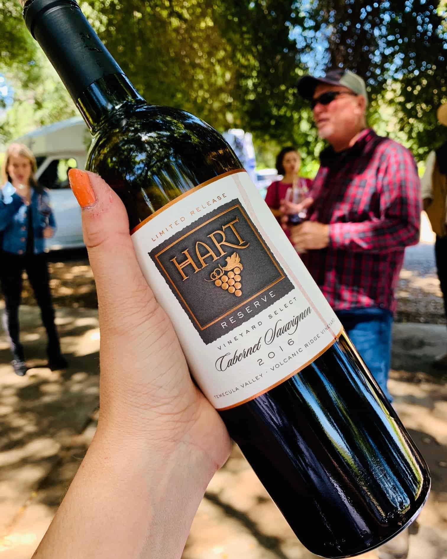Hart Winery Reserve Volcanic Ridge Cabernet Sauvignon 2016