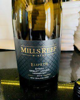 New Zealand Wine: Mills Reef, Elspeth Syrah Hawke's Bay 2016
