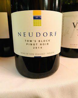 New Zealand Wine: NeudorfPinot Noir Tom's Block 2014