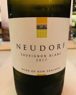 New Zealand Wine: Neudorf Sauvignon Blanc 2017