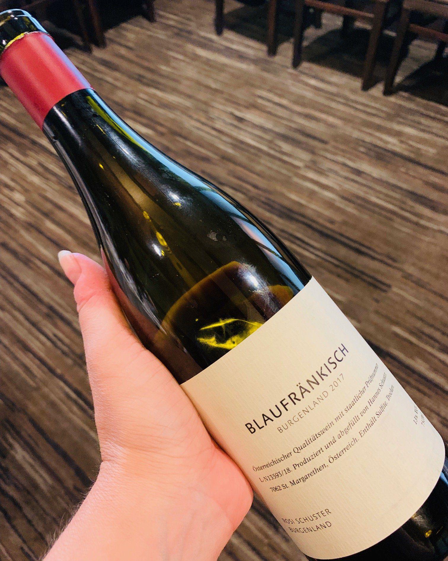 food and wine pairings Rosi Schuster Blaufränkisch 2017