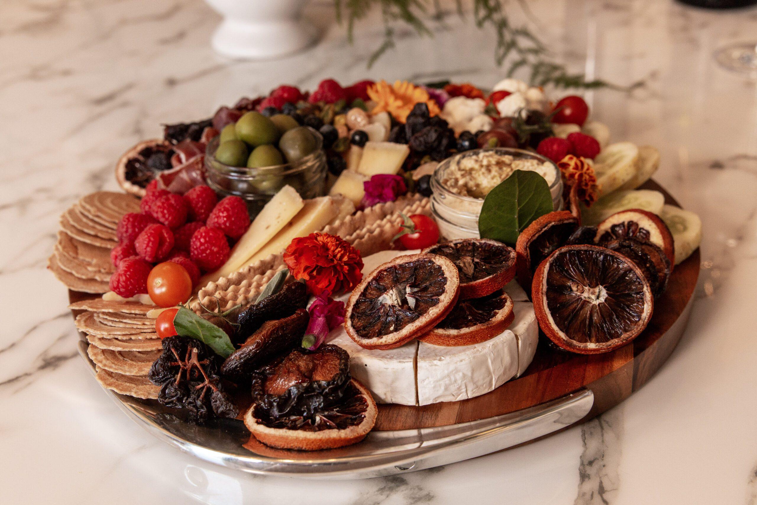Brianne Cohen Wine Cheese Platter