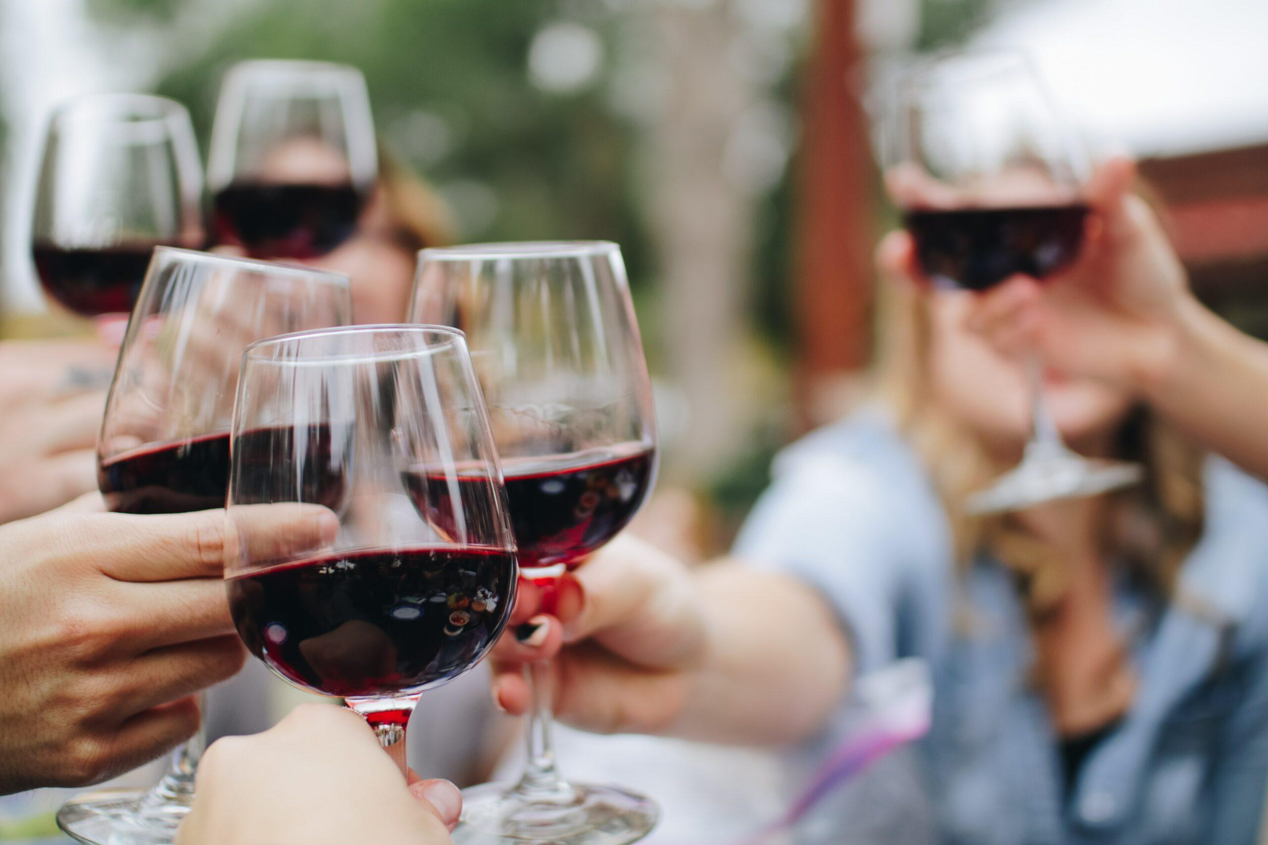 Brianne Cohen Wine Glasses Cheers