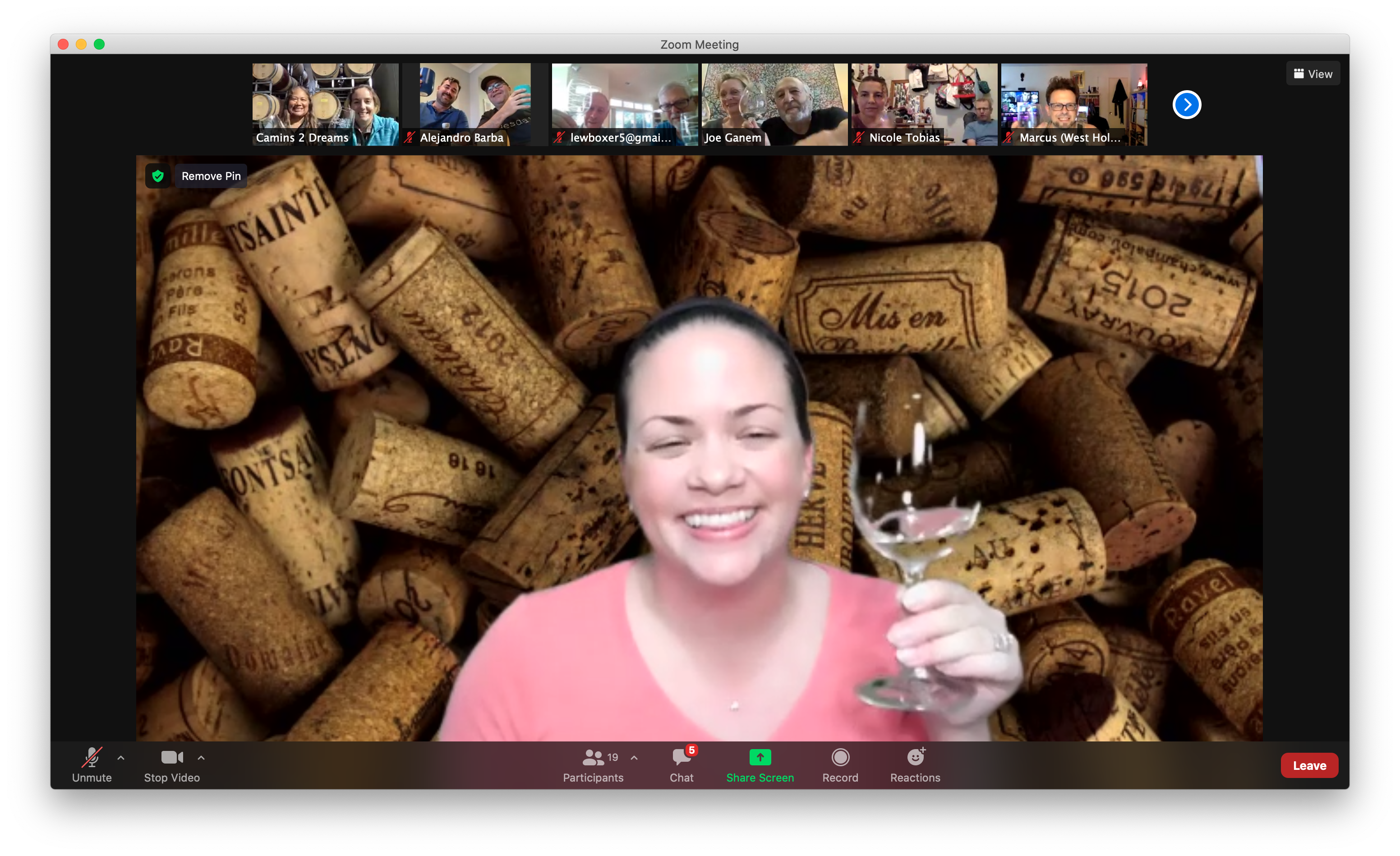 Brianne Cohen's Virtual Vino